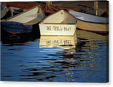 The Frig'n Boat Canvas Print