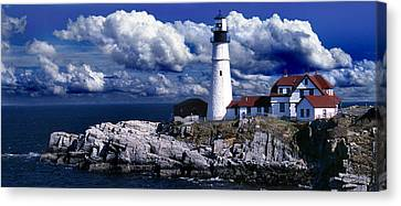 The Front At Portland Head Canvas Print