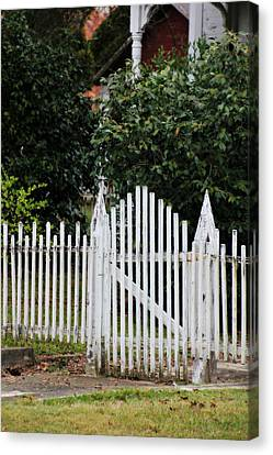 The Front Gate Canvas Print by Lynn Jordan