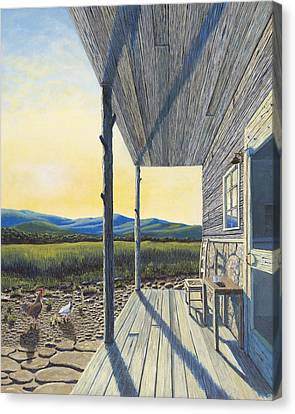 The Front Porch Canvas Print by Susan Schneider
