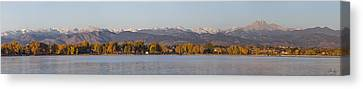 The Front Range Canvas Print by Aaron Spong