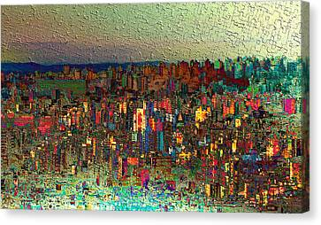 The Fun Side Of Town Canvas Print