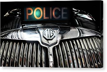 The Fuzz Canvas Print by Martin Newman