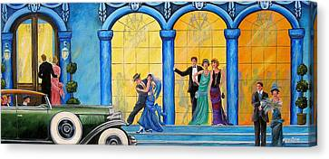 The Gala Canvas Print by Sharon Kearns