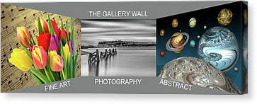 The Gallery Wall Logo Contest 2 Canvas Print by Steve Purnell