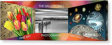 The Gallery Wall Logo Contest  3 Canvas Print by Steve Purnell