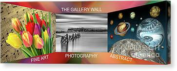The Gallery Wall Logo Contest  4 Canvas Print by Steve Purnell