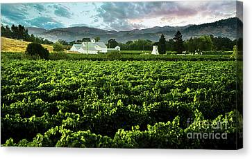 The Gamble Farm Canvas Print by Jon Neidert