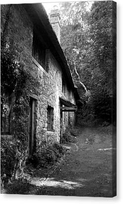Canvas Print featuring the photograph The Game Keepers Cottage by Michael Hope