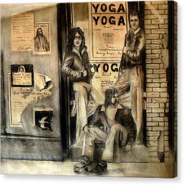 The Gang Canvas Print by Albert Puskaric