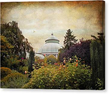 The Garden Conservatory Canvas Print by Jessica Jenney