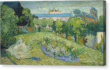 Signature Canvas Print - The Garden Of Daubigny by Vincent van Gogh