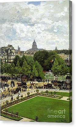 The Garden Of The Princess Canvas Print by Monet