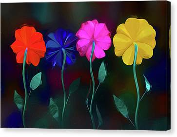 Canvas Print featuring the photograph The Garden by Paul Wear