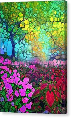 The Garden Tree Canvas Print