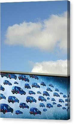 The Gas Van Cometh Canvas Print by Jez C Self