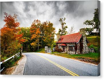 The Gate Keeper Canvas Print by Robert Clifford