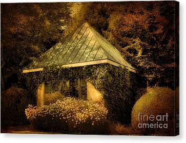 The Gatehouse Canvas Print by Lois Bryan