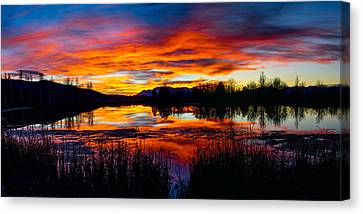 The Gates Of Heaven No. 2 Canvas Print by TL  Mair