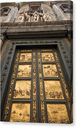 The Gates Of Paradise Doors Canvas Print by Joel Sartore