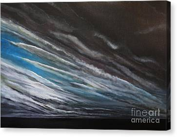 The Gathering Storm Canvas Print by Paul Horton