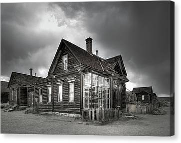 The General Store At Bodie Ghost Town Canvas Print by Margaret Goodwin