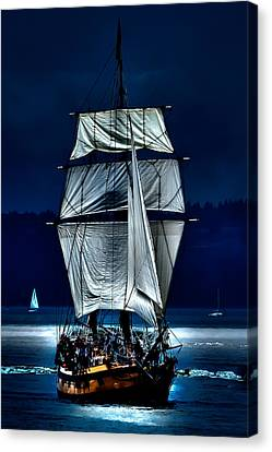 The Ghost Ship Canvas Print by David Patterson