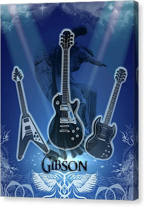The Gibson Trilogy Canvas Print