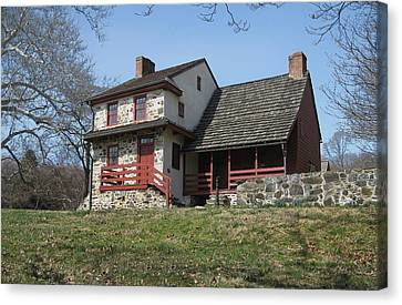 The Gilpin House Canvas Print by Gordon Beck