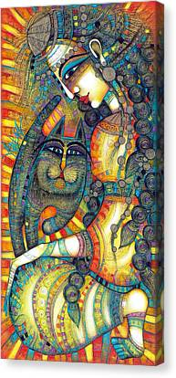 The Gipsy Canvas Print