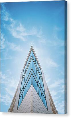The Glass Tower On Downer Avenue Canvas Print by Scott Norris