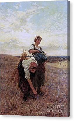 The Gleaners Canvas Print - The Gleaners, by MotionAge Designs