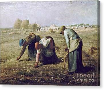 The Gleaners Canvas Print - The Gleaners by MotionAge Designs