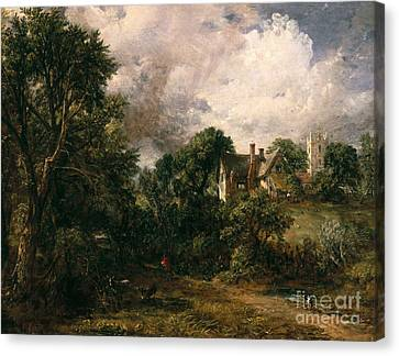 The Glebe Farm Canvas Print by John Constable