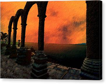 The Gloaming Canvas Print by Paul Wear