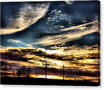 The Glory Canvas Print by David Walsh