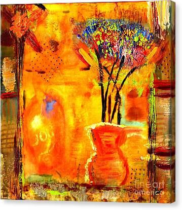 The Glow Of Joy Canvas Print by Angela L Walker