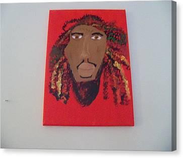 The Glow Of The Island Man Canvas Print by Rhonda Jackson