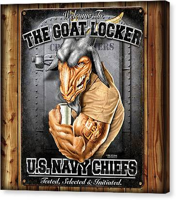 The Goat Locker Canvas Print