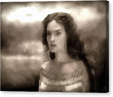 The Goddess Hera Canvas Print