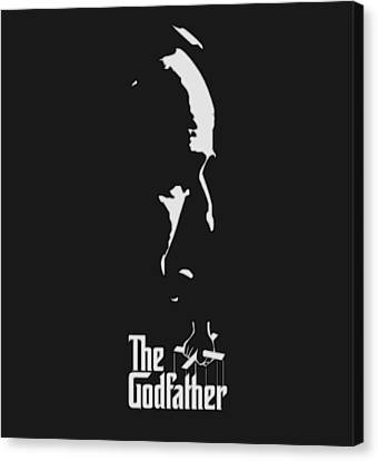 The Godfather Canvas Print by Dan Sproul