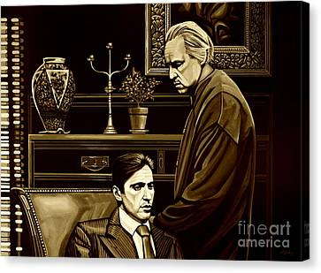 Francis Canvas Print - The Godfather by Meijering Manupix