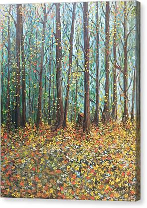 The Gold Of Fall Canvas Print