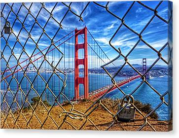 The Golden Gate Bridge  Canvas Print