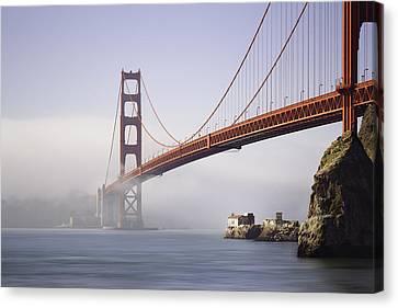 The Golden Gate Bridge Canvas Print by Eduard Moldoveanu