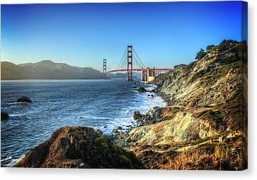 The Golden Gate Bridge Canvas Print by Everet Regal