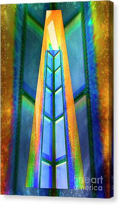 Metaphorical Canvas Print - The Golden Gate.. by Nina Stavlund