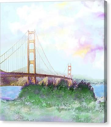 The Golden Gate Canvas Print