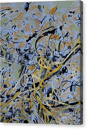 The Golden Twist Canvas Print by Nancy Kane Chapman