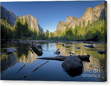 The Golden Valley Canvas Print